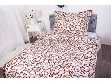 Lenjerie de pat din bumbac, pentru 2 persoane 140x200/70x90cm [PL0122]