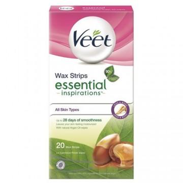 Veet® voskové pásky Natural Inspirations™ Arganový olej