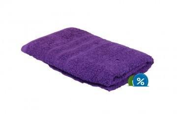 Froté ručník, 50x100 cm - fialový