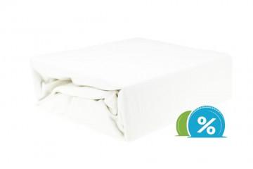 Jersey gyermek lepedő 60x120 cm – fehér