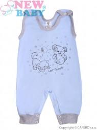 Kojenecké dupačky New Baby Kamarádi modré