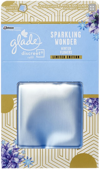 Glade Discreet náplň Winter Flowers 8 g