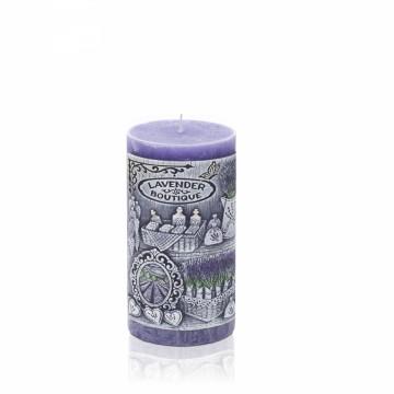 Svíčka Lavender Boutique válec 70x90mm