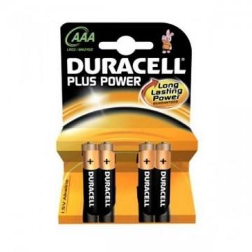 DURACELL DURLR3P4B - 4x AAA alkalické baterie