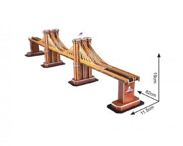 3D Puzzle Brooklynský most - 64 dílků