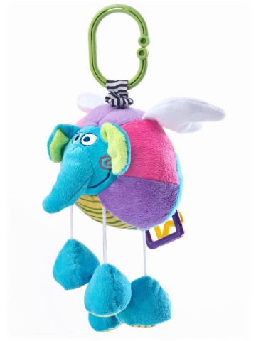 Edukačná plyšová hračka Sensillo sloník s vibrácií