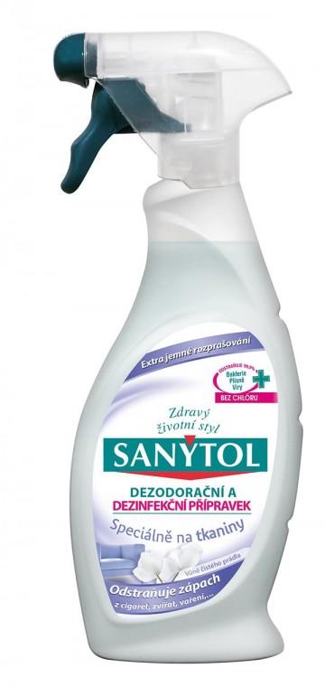 Sanytol - dezinfekční a dezodorační přípravek na tkaniny, 500ml