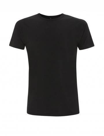 Pánské bambusové tričko, klasický střih - černé, 1 ks - velikost L