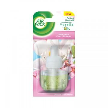 Air Wick Aparat electric - rezervă - Magnolie şi Flori de Cireş, 19ml