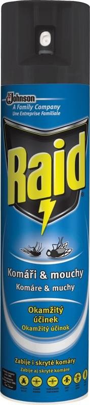Raid - proti komárům a mouchám, 400ml
