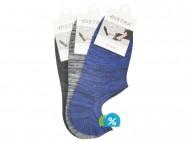 Pánské podkotníkové bavlněné ponožky Bixtra S0011 - 3 páry, velikost 43-46