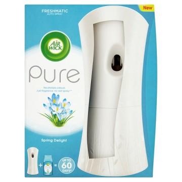 Air Wick Freshmatic osvěžovač vzduchu, bílý + náplň - Svěží vánek, 250ml