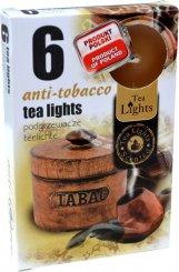 Čajové svíčky 6 kusů –  Antitabák