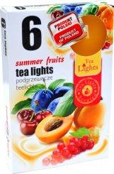 Čajové svíčky 6 kusů –  Letní ovovce