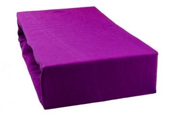 Cearșaf jersey 180x200 cm - violet