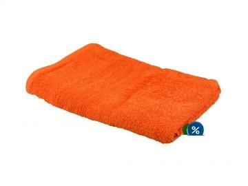 Prosop de corp plușat, 70x140 cm - portocaliu