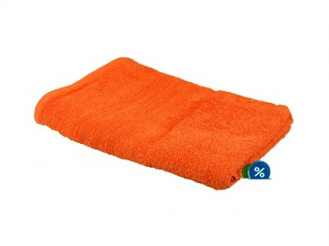Froté osuška, 70x140 cm - oranžová