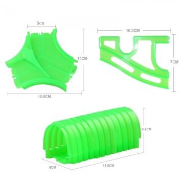 Set de accesorii pentru pistă luminoasă (6cm)