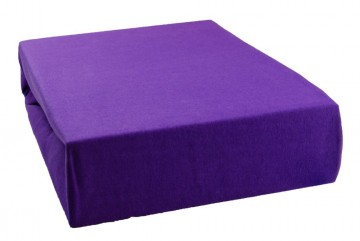Jersey lepedő 160x200 cm - levendula lila