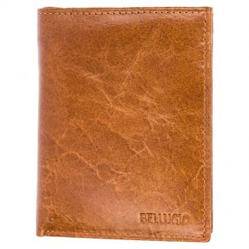 Pánská peněženka Bellugio - světle hnědá [996]