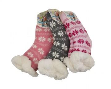 Csúszásgátló extra termo zokni, 1 pár, méret 27-30 - több színben