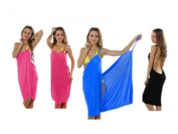 Plážové šaty, dlouhé - velikost XL