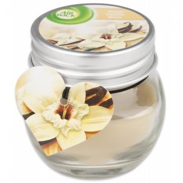 Vonná svíčka ve skle -  Air Wick- vanilkový lusk – 30g