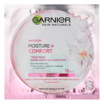 Pleťová maska Garnier Moisture a Comfort, 32g