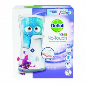 Dettol Kids - dispenser No Touch - aventurier, 250 ml