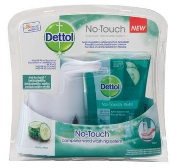 Dettol - dispenser de săpun lichid No Touch - castravete