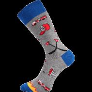 Ponožky - Hasiči - velikost 43-46