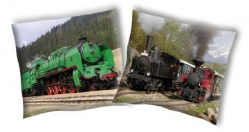 Povlak na polštářek Parní lokomotiva 1 40/40