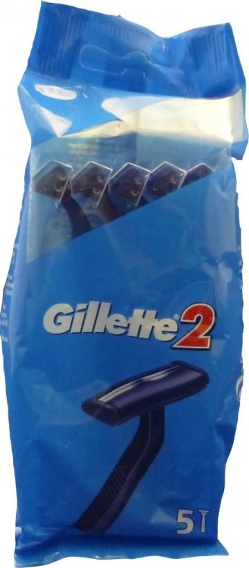 Gillette 2 - 5ks pohotová holítka