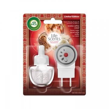 Air Wick elektrický osvežovac vzduchu, strojek & náplň - Jablečný koláč