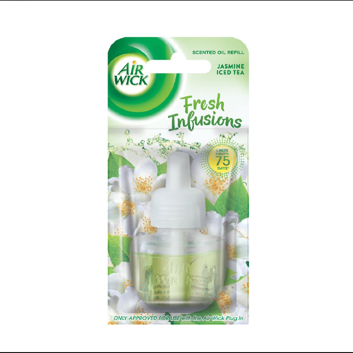 Air Wick folyékony utántöltő elektromos légfrissítőbe - Jázmin jeges tea, 19ml