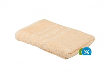 Froté ručník, 50x100 cm - meruňkový