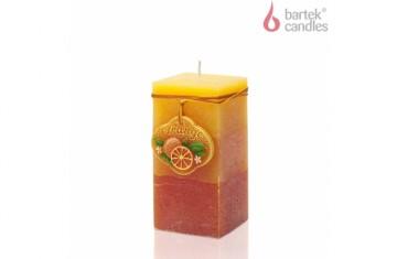 Svíčka Rustič s vůní Pomeranč, 620g