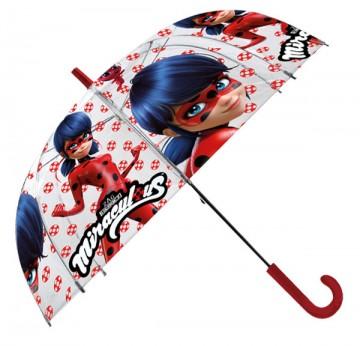 Vystřelovací průhledný deštník Kouzelná Beruška