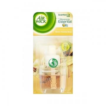 Air Wick tekutá náplň do elektrického osvěžovače - Bílá vanilka
