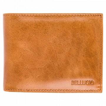 Pánská peněženka Bellugio - světle hnědá [997]