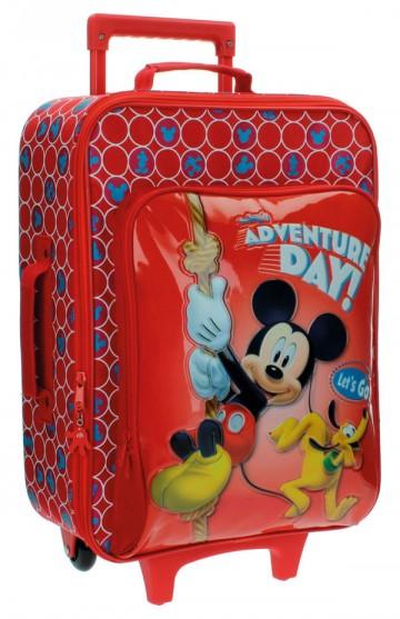 Cestovní kufr Mickey Adventure day 50 cm
