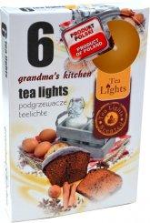 Čajové svíčky 6 kusů –  Babiččina kuchyň