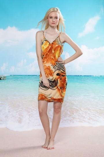 Plážové šaty - barevné [2253]