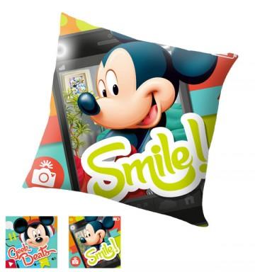 Polštářek Mickey Smile 40x40