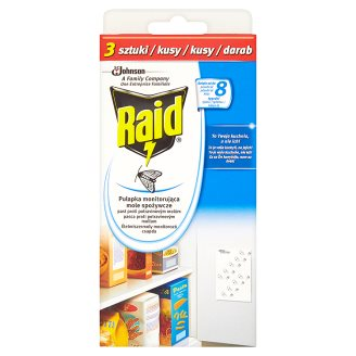 Raid - past proti potravinovým molům - 3 ks v balení