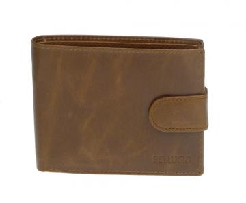 Pánská peněženka Bellugio - světle hnědá [967]