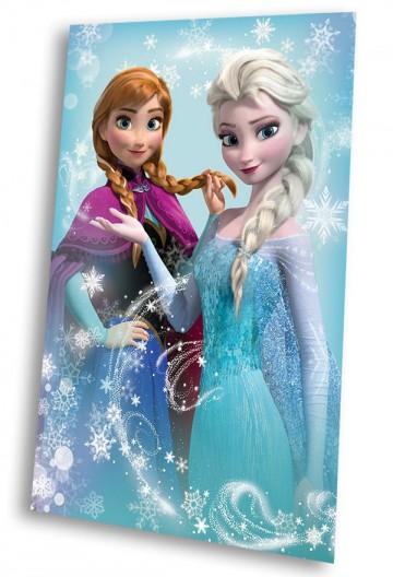Fleesová deka Ledové Království Anna a Elsa