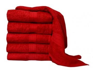 Froté ručník, 50x100 cm - bordó