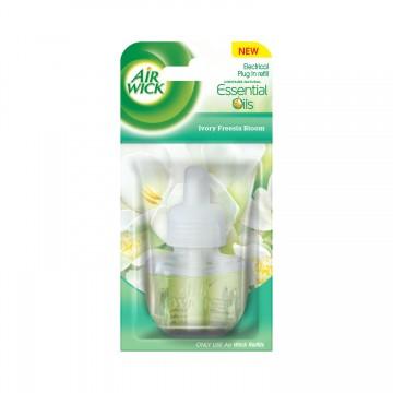 Air Wick tekutá náplň do elektrického osvěžovače - Bílé květy frézie