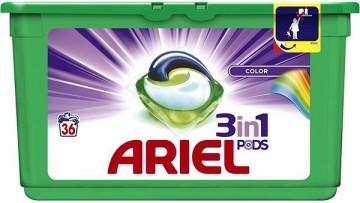 Ariel Color, kapsle - 36 ks